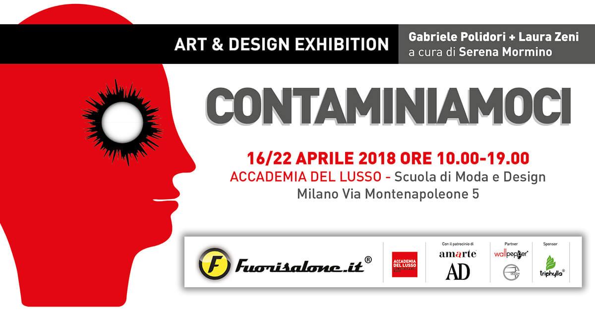 """""""CONTAMINIAMOCI"""" Di Gabriele Polidori E Laura Zeni – Dal 16 Al 22 Aprile 2018"""