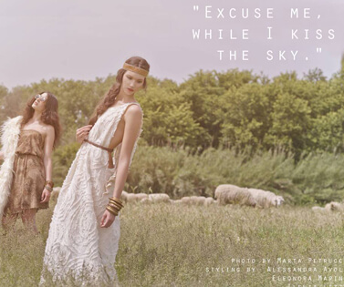 copertina Excuse Me While i Kiss the Sky