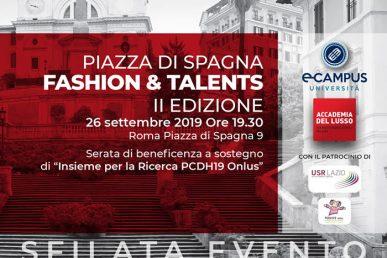 """Piazza Di Spagna """"Fashion & Talents"""", Sfilata Evento A Roma"""