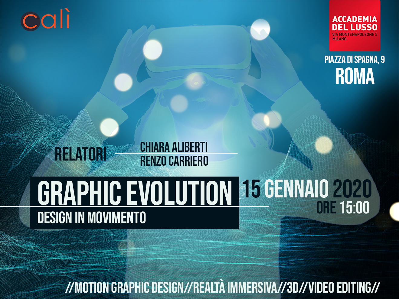 Seminario Graphic Evolution – Design In Movimento