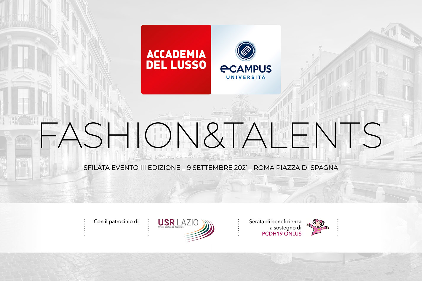 Fashion& Talents – Sfilata evento 2021, Roma